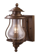 Landmark 62005-1 Wikshire One Light Outdoor Sconce in Coffee Bronze - PeazzLighting