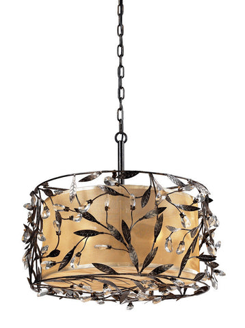 ELK Lighting Circeo 3- Light Pendant In Deep Rust - 18132/3 - PeazzLighting