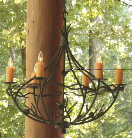 Pine Chandelier 6-Arm - PeazzLighting