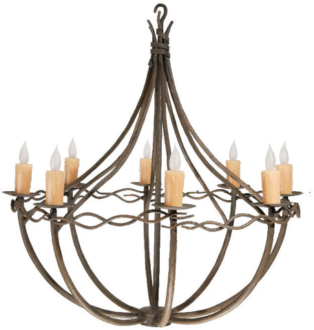 Norfork Chandelier 8-Arm - PeazzLighting