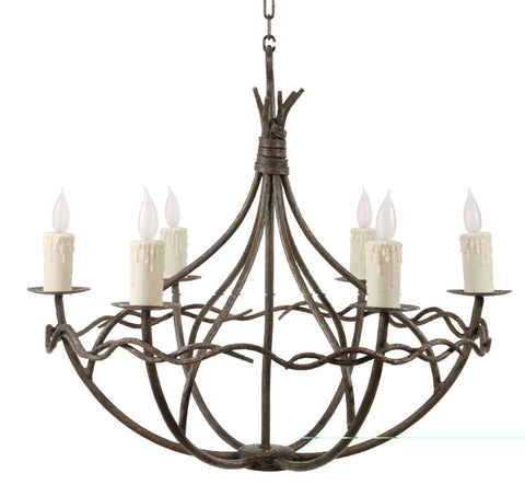 Norfork Chandelier 6-Arm - PeazzLighting