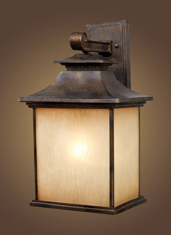 ELK Lighting 42182-1 San Gabriel One Light Outdoor Sconce In Hazelnut Bronze - PeazzLighting