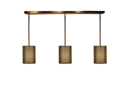 Z-Lite Nikko Collection Antique Brass/Gold Finish 9 Lights Island/Billiard - ZLiteStore