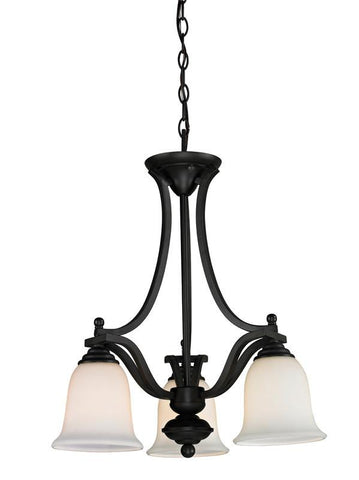 Z-Lite 703-3-mb Lagoon Collection 3 Light Chandelier - ZLiteStore