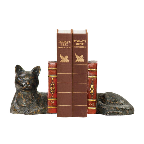 Sterling Industries 93-5083 Pair Cat Napping Bookends - PeazzLighting