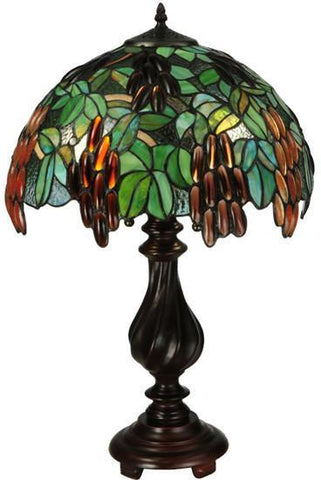 "Meyda Tiffany 134529 25""H Murlo Table Lamp - PeazzLighting"