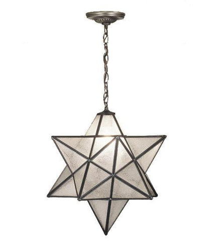 Meyda Tiffany 21211 Moravian Star Seedy Pendant - PeazzLighting