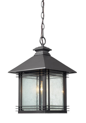 ELK Lighting Blackwell 1- Light Outdoor Pendant In Graphite - 42303/1 - PeazzLighting