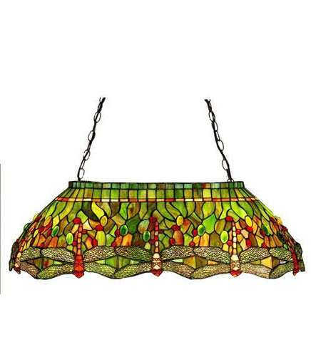 Meyda Tiffany 26547 Tiffany Hanginghead Dragonfly Oblong Pendant - PeazzLighting