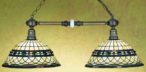 Meyda Tiffany 27408 Tiffany Roman Two Light Island Pendant - PeazzLighting