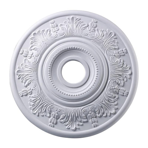 ELK Lighting Laureldale Lauerdale Medallion 21 Inch In White Finish - M1004WH - Peazz.com
