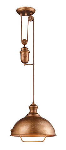 Landmark 65061-1 Farmhouse Bellwether Copper Pendant - PeazzLighting