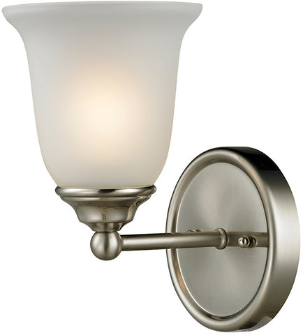 Cornerstone 5601BB/20 Sudbury 1 Light Bathbar  In Brushed Nickel - PeazzLighting