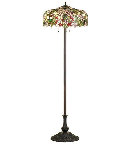 Meyda Tiffany 66466 Tiffany Cherry Blossom Floor Lamp - PeazzLighting