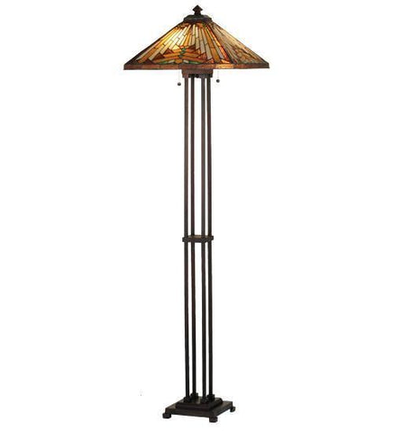 Meyda Tiffany 66228 Nuevo Mission Floor Lamp  - PeazzLighting