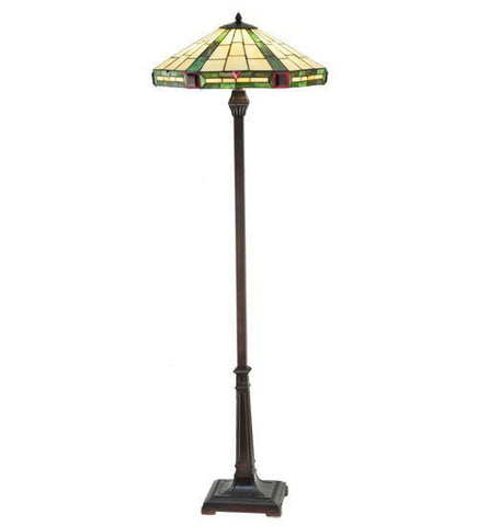 Meyda Tiffany 26555 Wilkenson Floor Lamp - PeazzLighting
