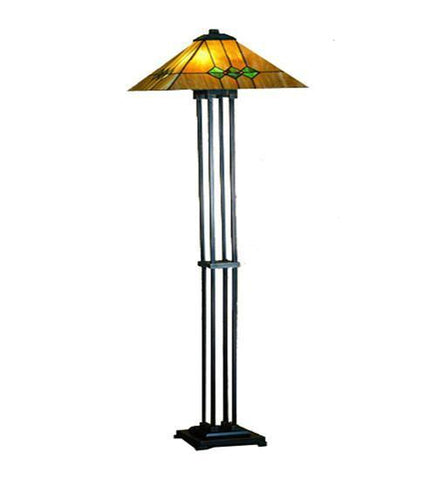 Meyda Tiffany 27854 Martini Mission Floor Lamp - PeazzLighting