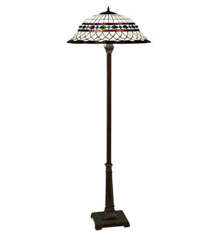 Meyda Tiffany 30369 Tiffany Roman Floor Lamp - PeazzLighting