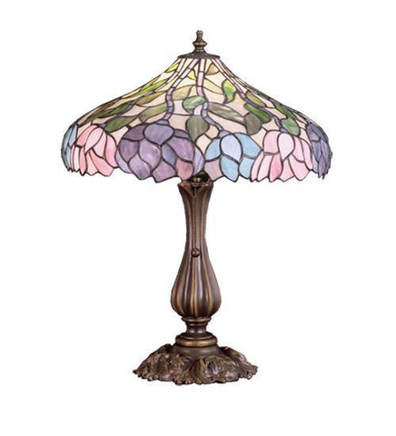 Meyda Tiffany 52135 Wisteria Table Lamp  - PeazzLighting