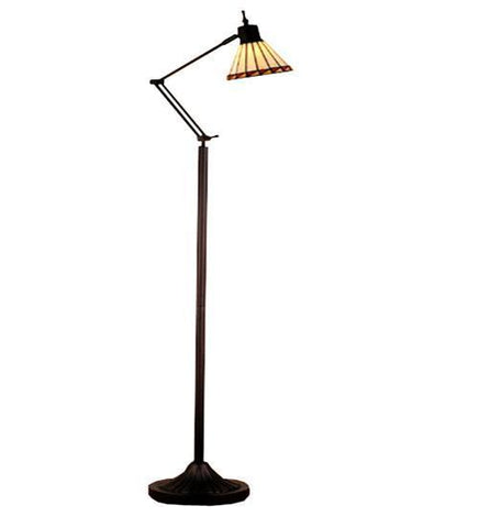 Meyda Tiffany 65947 Mission Adjustable Floor Lamp  - PeazzLighting
