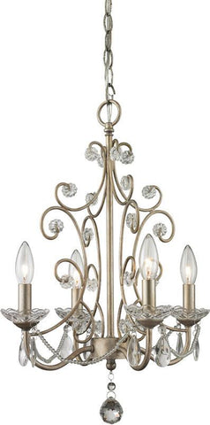 Z-Lite 420AS 4 Light Mini Chandelier - ZLiteStore