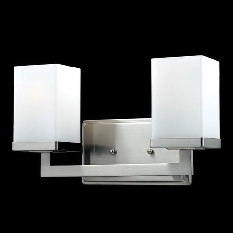 Z Lite Tidal Collection Brushed Nickel Finish Two Light Vanity Light - ZLiteStore