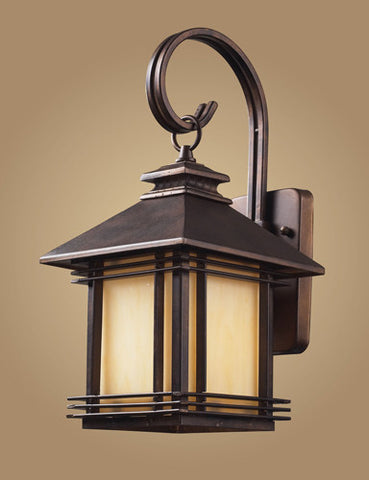 ELK Lighting 42100-1 One Light Outdoor Wall Sconce In Hazelnut Bronze - PeazzLighting