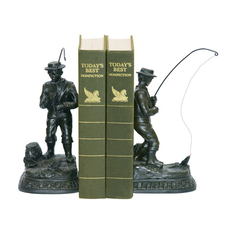 Sterling Industries 93-3329 Pair Fish On Line Bookend - PeazzLighting