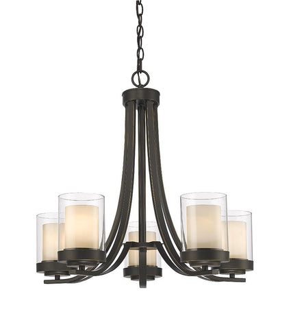 Z-Lite 426-5-OB 5 Light Chandelier - ZLiteStore