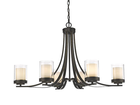 Z-Lite 426-6-OB 6 Light Chandelier - ZLiteStore