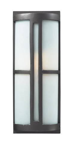 ELK Lighting Trevot 1- Light Outdoor Sconce In Graphite - 42395/1 - PeazzLighting
