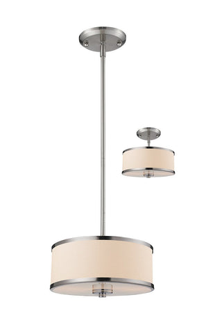 Z-Lite 183-12 2 Light Convertible Pendant - ZLiteStore