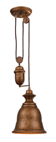 Landmark 65060-1 Farmhouse Bellwether Copper Pendant - PeazzLighting