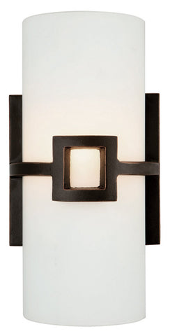 Design House 514604 514604 Monroe 1 Light Wall Scrollonce Orb Oil Rubbed Bronze - PeazzLighting