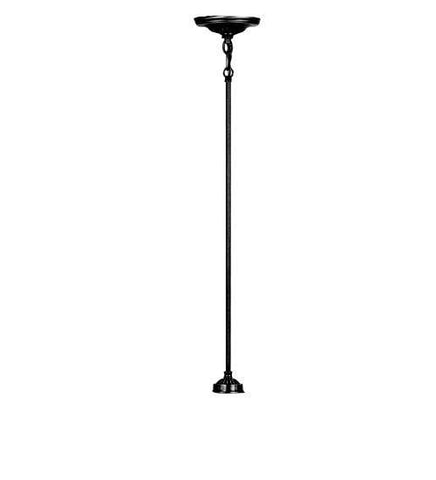 "Meyda Tiffany 48913 Adjustable 11, 17, 21 & 29"" 1lt Pendant Rod - PeazzLighting"