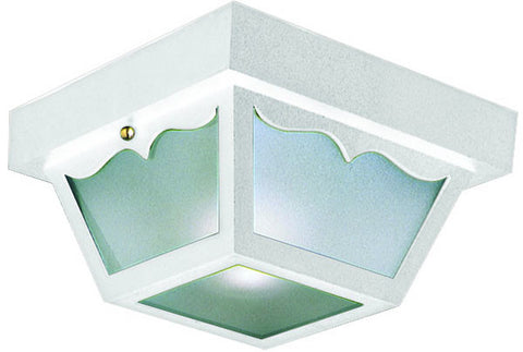 Design House 501858 501858 White Poly Outdoor Ceiling White - PeazzLighting