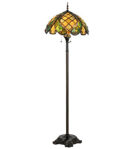 "Meyda Tiffany 139421 65""H Capolavoro Floor Lamp - PeazzLighting"