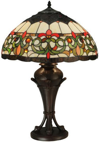"Meyda Tiffany 130756 26""H Creole Table Lamp - PeazzLighting"