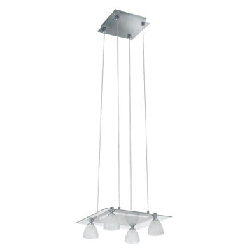 Jesco Lighting PD304-4 The elegant SLANTUS family includes a 2- and 4-light Pendant, and a 1- and 2-light Wall Sconce - PeazzLighting