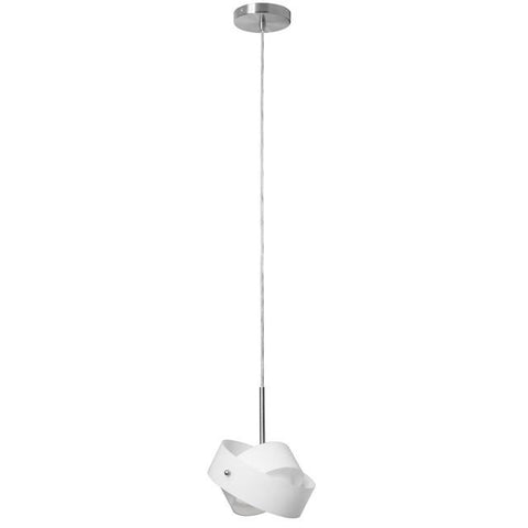 Dainolite 418-1P-SC Single Pendant w/Frosted Glass - Peazz.com