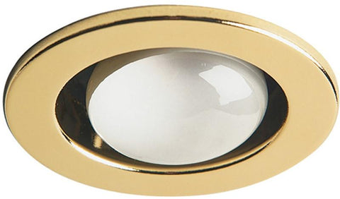 Dainolite Polished Brass Trim Only Open Type  Use With Dl4000 Housing DL400-PB - Peazz.com