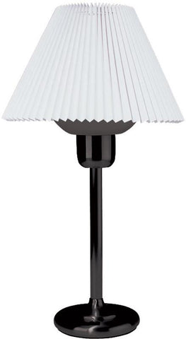 Dainolite Black Table Lamp With 200 Watt Bulb Included DM980-BK - Peazz.com