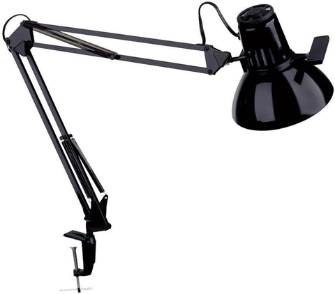 Dainolite Black Clamp On Lamp With Metal Mx Bracket MAGNUS-I-BK - Peazz.com