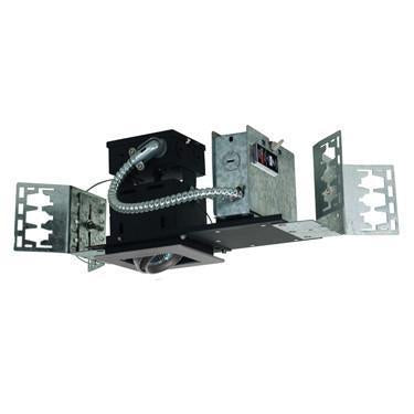 Jesco Lighting MMG1650-1ESS 1-Light Linear New Construction (Low Voltage) Includes 120V Lightech Electronic Transformer - Peazz.com