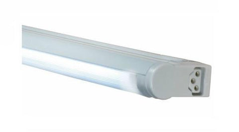 Jesco Lighting SG5A-28SW/35-SV 3-Wire Grounded; Adjustable T5 Sleek Plus-Fluorescent Undercabinet Fixture - Peazz.com