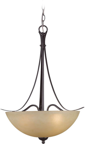 Woodbridge Lighting Kearney Indoor Lighting Pendant & Foyer 22024-MAB - PeazzLighting