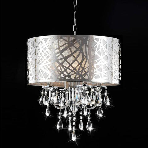 Tomia Crystal Chandeliers L 1710/05/002 chrome/ Bohemian Crystal Milada Contemporary Chandelier
