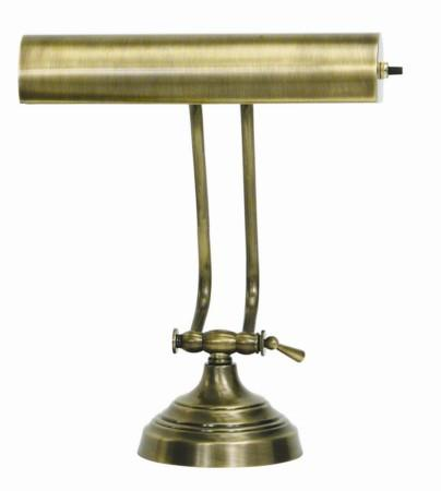 "House of Troy AP10-21-71 Advent 10"" Antique Brass Piano/Desk Lamp - Peazz.com"