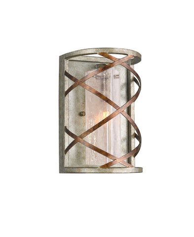 Woodbridge Lighting 12641VIN-C40432 1 Light Braid Wall Sconce - PeazzLighting