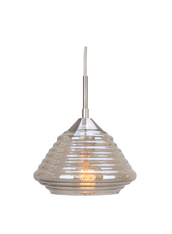 Woodbridge Lighting 12723 1 Light Queen Style Mini Pendant - PeazzLighting